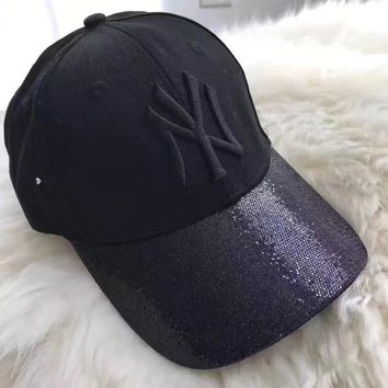 DCKKID4 MLB New York Yankees Women Men Sport Sunhat Embroidery Baseball Cap Hat