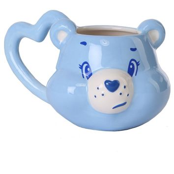 Grumpy Bear Care Bears Heart Ceramic Coffee Mug