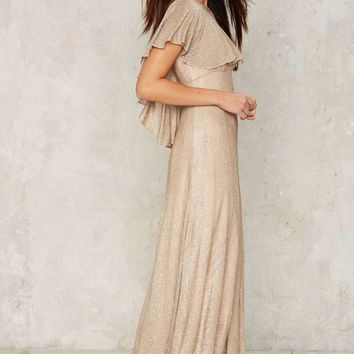 Vintage In For the Twinkle Maxi Dress