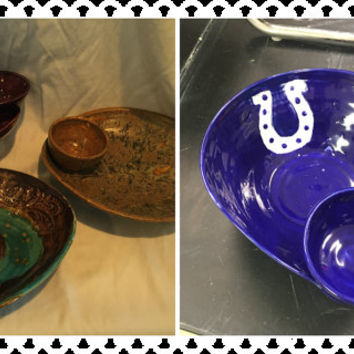 Custom Chip and Dip Bowls