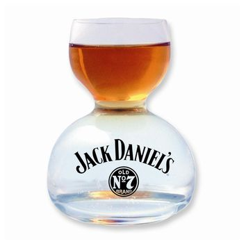 Jack Daniel's 1 oz. Whiskey on Water Glass - Etching Personalized Gift Item