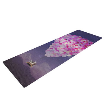 "Monika Strigel ""Never Stop Exploring IV"" Yoga Mat"