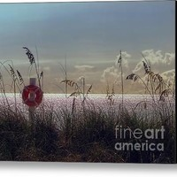 Song Of The Shore Canvas Print