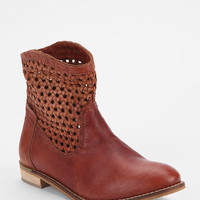 Seychelles Woven Panel Ankle Boot
