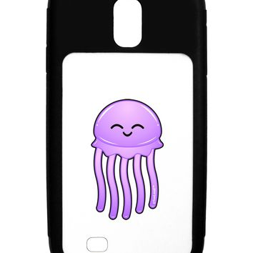 Cute Jellyfish Galaxy S4 Case  by TooLoud