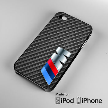 BMW M Class logo iPhone 4 4S 5 5S 5C 6, iPod Touch 4 5 Cases
