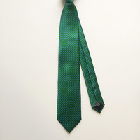 Square Green Diego Silk Tie