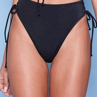 LA Hearts Lace-Up High Rise Bikini Bottom at PacSun.com