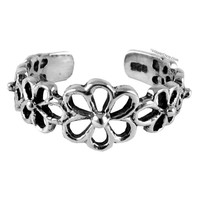 Flower Cut-Out Toe Ring on Sale for $12.99 at HippieShop.com