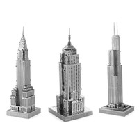 Set of 3 USA Landmarks by Fascinations