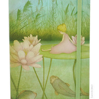 Eclectic Hardcover Notebook - Thumbelina from Santoro