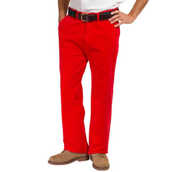 Beachcomber Corduroy Pant Bright Red
