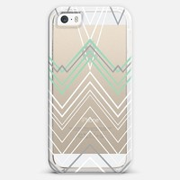 Mint Chevy Transparent #4 iPhone 5s case by Project M | Casetify