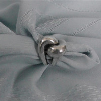 """Vintage Sterling Silver """"Knot"""" Ring"""