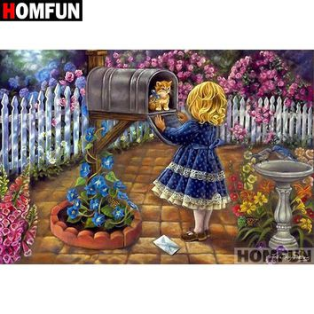 5D Diamond Painting Kitten Delivery Kit