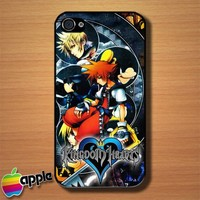 Video Game Kingdom Hearts Custom iPhone 4 or 4S Case Cover