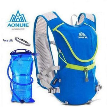Aonijie Men Wome Lightweight Mochila Running Backpack Outdoor Sports Marathon Cycling Hiking Bag Optional 1.5l Hydration Water