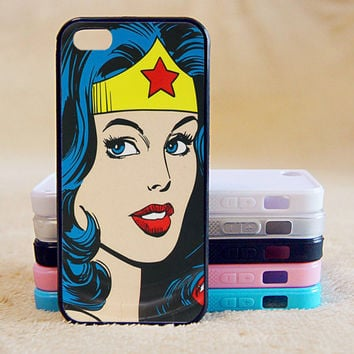 Wonder Woman,Super Hero, Custom Case, iPhone 4/4s/5/5s/5C, Samsung Galaxy S2/S3/S4/S5/Note 2/3, Htc One S/M7/M8, Moto G/X