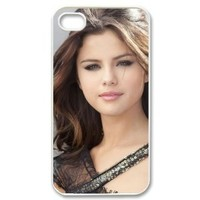 Selena Gomez iPhone 4/4s Case Hard Cover Protective Back Fits Case PC3434