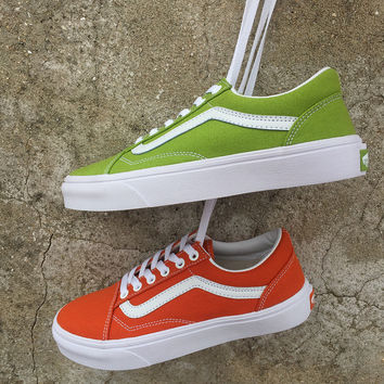 Trendsetter Vans Old Skool Canvas Flat Ankle Boots Sneakers Sport Shoes