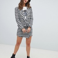River Island boucle blazer at asos.com