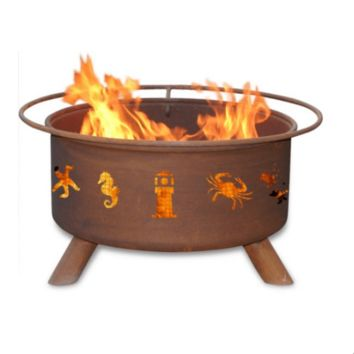 Atlantic Coast Steel Fire Pit by Patina Products
