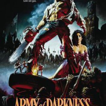 Army Of Darkness movie poster Sign 8in x 12in