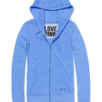 Lightweight Tri-Blend Perfect Zip Hoodie