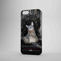Game Of Thrones Love Cat iPhone Case Galaxy Case 3D Case