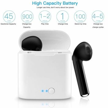 Dual Wireless  Bluetooth Earphone Earbuds for Apple Airpods iPhone Android IOS