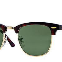 Ray-Ban RB3016 W0366 49-21 CLUBMASTER CLASSIC Tortoise sunglasses | Official Online Store US