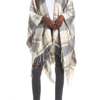 BP. Plaid Cape | Nordstrom