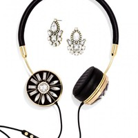 Gold FRENDS x BaubleBar Layla Headphones