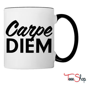 Carpe Diem Coffee & Tea Mug