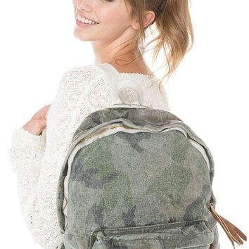 Brandy ♥ Melville |  Camo Backpack - Just In