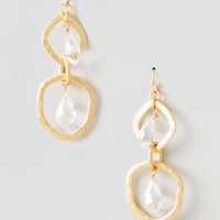 EDDYSTONE CRYSTAL TEARDROP EARRINGS