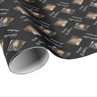 Personalized Photo Happy Birthday Wrapping Paper