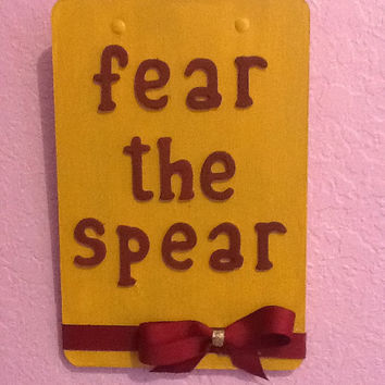 FSU Fear the Spear Clipboard