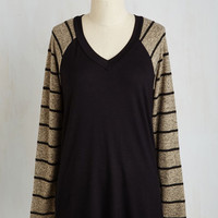 Menswear Inspired Mid-length Long Sleeve Relaxing Effects Top