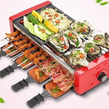 Automatic Portable Electric Barbeque