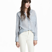 H&M Airy Cotton Shirt $24.99