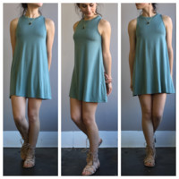 An Everyday Sundress in Sage