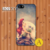 Disney, Mermaid, Ariel, Phone cases, iPhone 5 case, iPhone 5s case, iPhone 4 case, iPhone 4s case, Case for iPhone --A50077