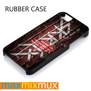 Skrillex iPhone 4/4S, 5/5S, 5C, 6/6 Plus Series Rubber Case