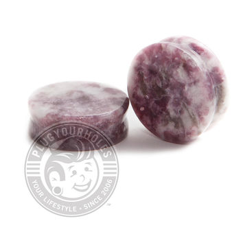 Moondevite Stone Plugs
