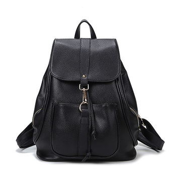Comfort College Back To School On Sale Hot Deal Korean Casual Stylish Fashion Backpack [4915454148]