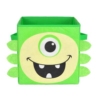 Nuby Green Monster Folding Storage Bin