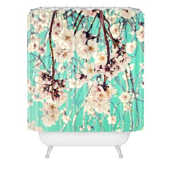 Lisa Argyropoulos Spring Showers Shower Curtain