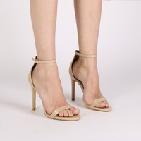 Avril Barely There Heels in Nude