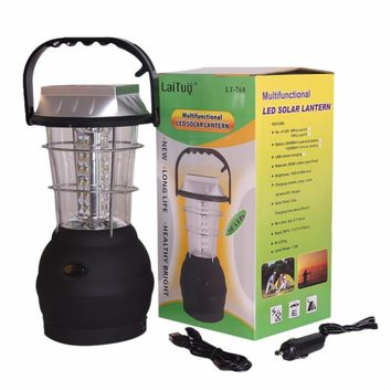 36 LEDs Ultra-Bright Solar Lantern Home Emergency Outdoor Multi-Model Rechargeable Camping Lantern Emergency Light Camping Gear